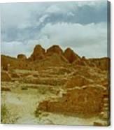Chaco Canyon Ruins 7 Canvas Print