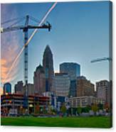Charlotte North Carolina Early  Morning Sunrise Canvas Print