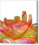 Corpus Christi Texas Skyline Canvas Print