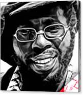 Curtis Mayfield Collection Canvas Print