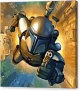 Empire Star Wars Poster Canvas Print