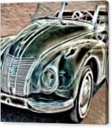 Former East Germany I F A Car Canvas Print