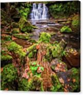 Goit Stock Waterfall Canvas Print
