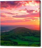 7 Hills Of Bonn Canvas Print