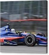High Speed Indycar Canvas Print