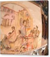 Italy Life Love Linguini Album Canvas Print