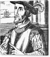 Juan Ponce De Leon Canvas Print