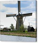 Kinderdijk Windmills Canvas Print