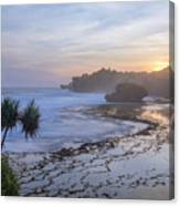 Kukup Beach - Java Canvas Print