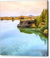 Lake Myvatn Canvas Print