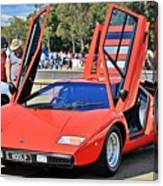 Lamborghini Countach Lp400 Canvas Print
