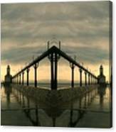 Lighthouse Reflections Canvas Print