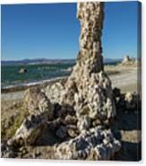 Natural Rock Formation At Mono Lake, Eastern Sierra, California, Canvas Print
