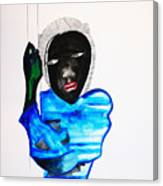 Nuer Lady - South Sudan Canvas Print