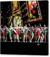 Radio City Rockettes New York City Canvas Print