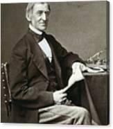 Ralph Waldo Emerson Canvas Print
