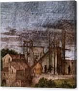 Raphael La Disputa  Canvas Print