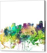 San Francisco California Skyline Canvas Print