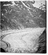 Sawyer Glacier In Tracy Arm Alaska Fjords Near Ketchikan Alaska Canvas Print