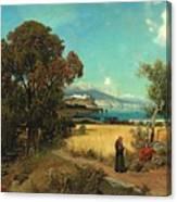 Sicilian Scene Canvas Print