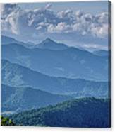 Springtime In The Blue Ridge Mountains Canvas Print