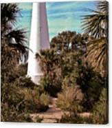 St Marks Lighthouse Canvas Print