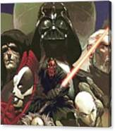 Star Wars For Poster Canvas Print