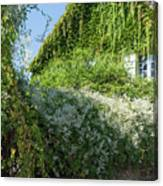 Street Scenes From Giverny France Canvas Print
