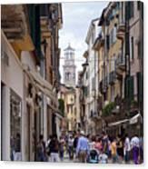 Streets Of Verona Canvas Print