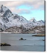 Sund, Lofoten - Norway Canvas Print