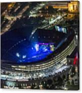 The Grateful Dead At Soldier Field Aerial Photo Canvas Print
