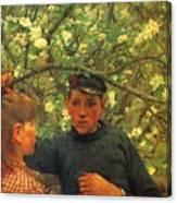 The Promise Walker Henry Scott Tuke Canvas Print