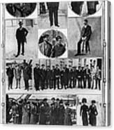Titanic: Survivors, 1912 Canvas Print