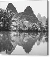 Yulong River Scenery Canvas Print