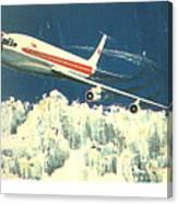 707 In The Air Canvas Print