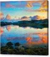 Landscape Nature Art Canvas Print