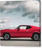 72 Mustang Canvas Print