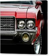72 Olds Cutlass Canvas Print