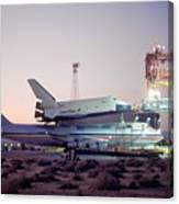 747 With Space Shuttle Enterprise Before Alt-4 Canvas Print