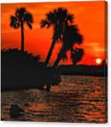 75 Island Sunset Canvas Print