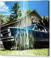 Classic Cars Canvas Print