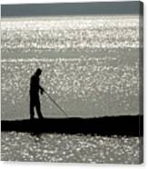 78. One Man And His Rod Canvas Print