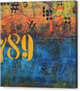 789 Street Blues Canvas Print