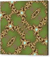Fractal Floral Pattern Canvas Print