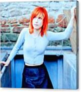 79361 Hayley Williams Paramore Women Singer Redhead Canvas Print