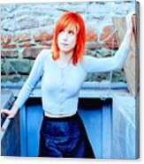 79361 Hayley Williams Paramore Women Singer Redhead Canvas Print