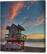 7944- Miami Beach Sunrise Canvas Print