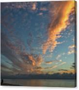 7972- Miami Beach Sunrise Canvas Print