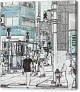 7987 Canvas Print