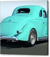 1936 Ford Coupe Canvas Print